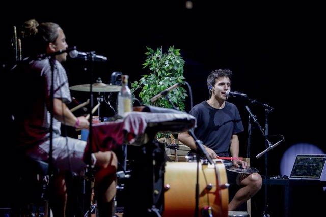 Archivo - Arxivo - Concert de Stay Homas en el WiZink Center de Madrid, a 13 de setembre de 2020.