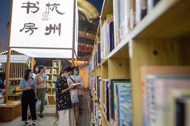 Archivo - Mercado cultural en la ciudad china de Hangzhou