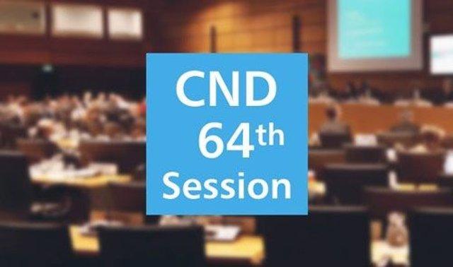 La sesión 64ª de la Comisión de Estupefacientes (CND64)