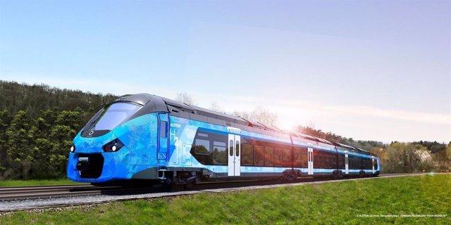 Tren de Alstom de la gama Coradia Polyvalent