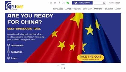Andalucía colaborará con el centro europeo de apoyo a las pymes para abrir negocio en China