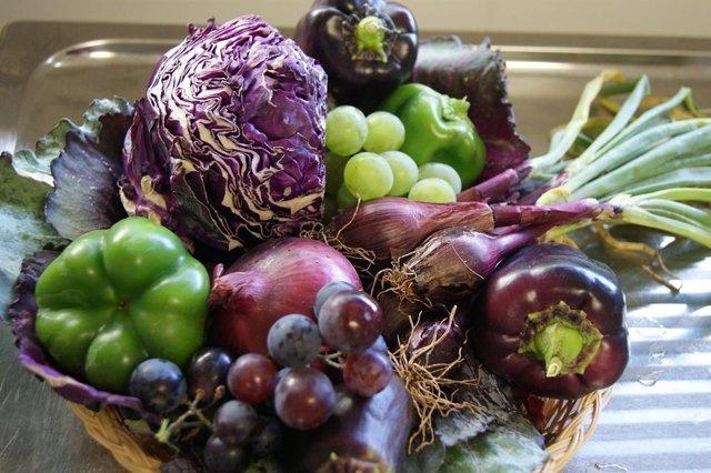 Archivo - Verdura, legumbre, fruta