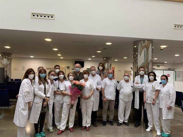 Equipo de la Unidad de Hipertensión Arterial y Riesgo Vascular del Hospital Virgen de la Victoria de Málaga