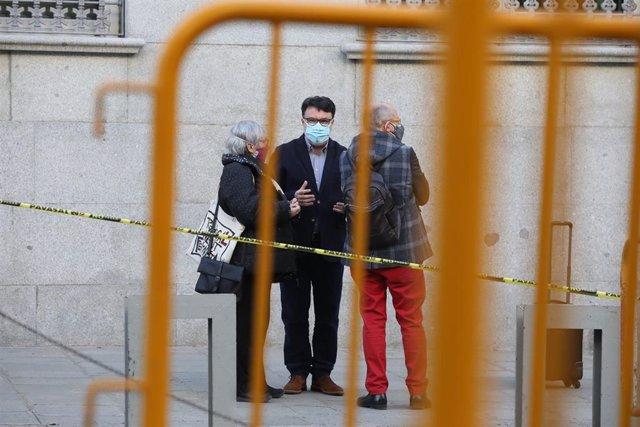 Segunda sesión del juicio al diputado de ERC Joan Josep Nuet por el 'procés'