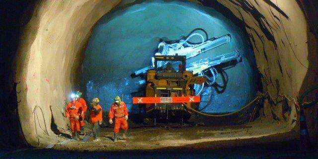 Archivo - Proyecto Chuquicamata subterránea de la Corporación Nacional de Cobre de Chile (Codelco)