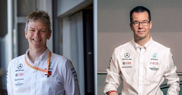 Archivo - Mike Elliott reemplazará a James Allison como director técnico de Mercedes
