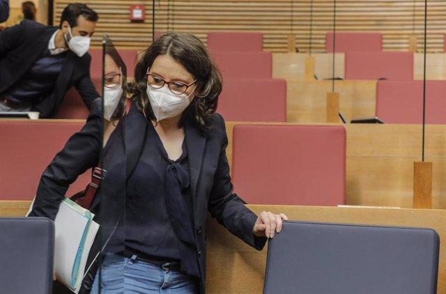 La vicepresidenta y Portavoz del Gobierno Valenciano, Mónica Oltra, en una imagen de archivo.