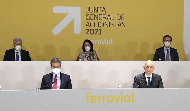Junta de accionistas de Ferrovial de 2021