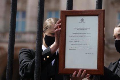 """Boris Johnson lamenta la muerte del príncipe Felipe, que """"se ganó el afecto de varias generaciones"""""""