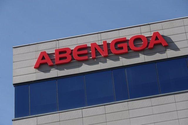 Edificio de la empresa Abengoa en la capital, Madrid, (España), a 11 de marzo de 2021. Abengoa, empresa dedicada a la ingeniería y construcción industrial en los sectores de transmisión y distribución de energía, ha decidido extender hasta el 31 de marzo