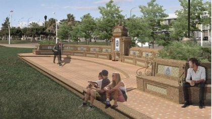 Puertos.- La Fuente de las Naciones del Puerto de Huelva será una realidad en otoño