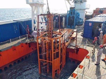 China logra nuevo récord de extracción profunda de sedimiento marino