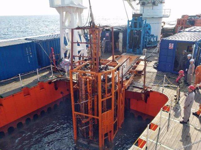 """Simulacros de """"Sea Bull II"""" en el Mar de China Meridional el 7 de abril de 2021."""
