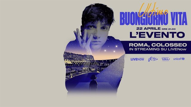 Ultimo será el protagonista de 'Buongiorno vita - L'EVENTO' un concierto en streaming