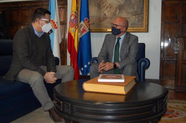 Reunión del conselleiro de Medio Rural y el presidente de la Diputación de Ourense