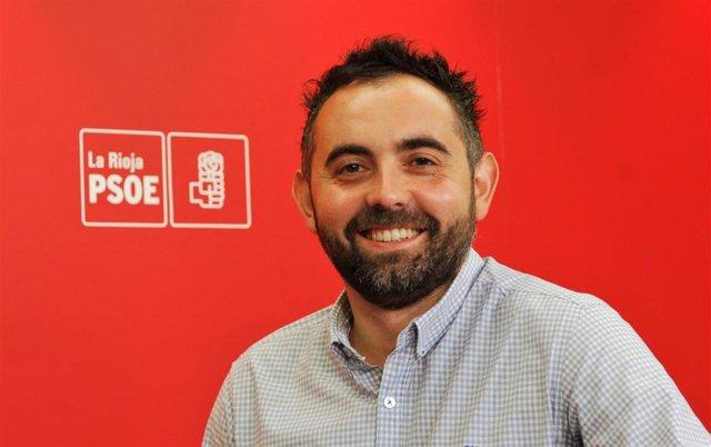 Archivo - Raúl Juárez, secretario de sanidad del PSOE riojano