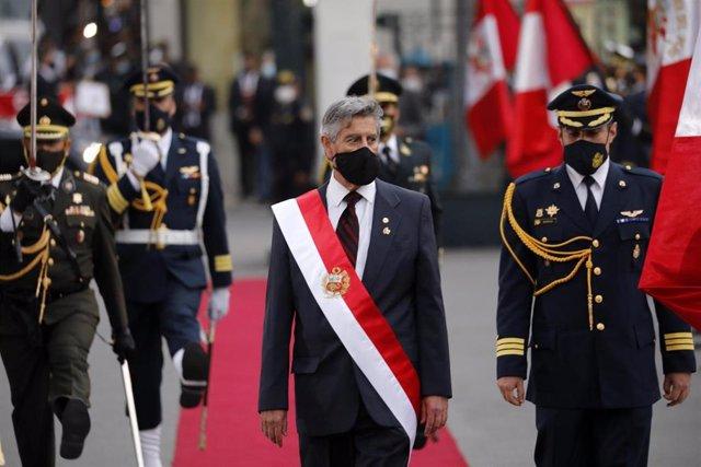 Archivo - El presidente de Peré, Francisco Sagasti.
