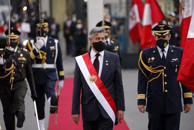 Archivo - El nuevo presidente de Peré, Francisco Sagasti.
