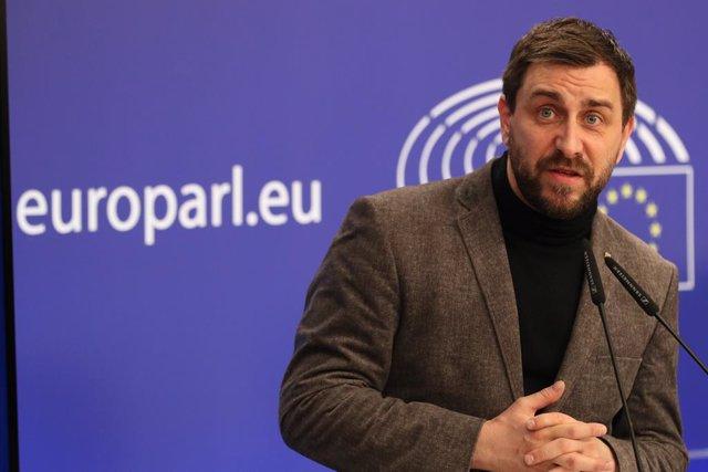 Archivo - Arxiu - El vicepresident del Consell per la República i eurodiputat de Junts, Toni Comín, en una imatge d'arxiu.