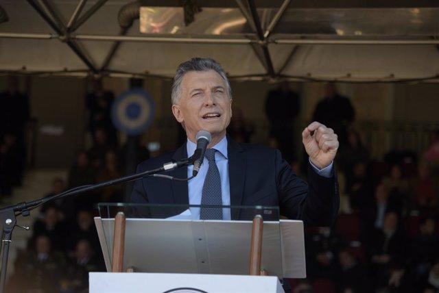 Archivo - El expresidente de Argentina Mauricio Macri.