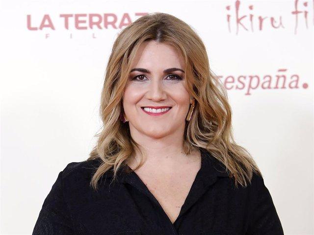 """Archivo - Carlota Corredera acude a la Premiere de la película """"Adú"""" en Madrid, 28 de Enero de 2020 ."""