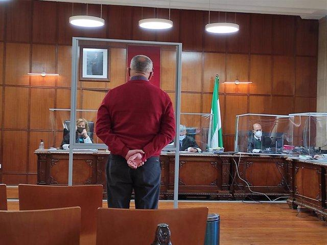 Archivo - El acusado prestando declaración en el juicio