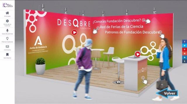 Feria de la cienca andaluza en una imagen de archivo.