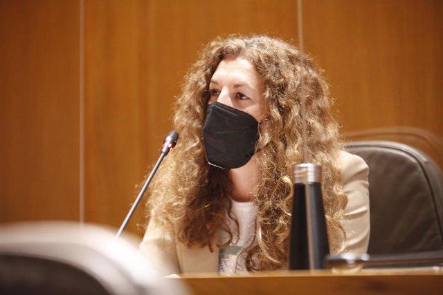 Diputada de Ciudadanos en las Cortes de Aragón, Beatriz Acín.