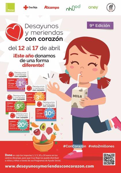 Alcampo.- Cruz Roja recogerá donaciones del 12 al 17 de abril para familias en situación de vulnerabilidad