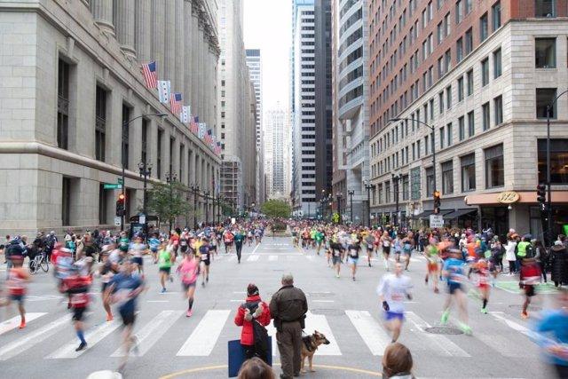 Archivo - Maratón de Chicago 2019