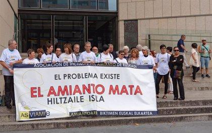 El Congreso debate este martes la ley del Parlamento vasco para compensar a víctimas del amianto