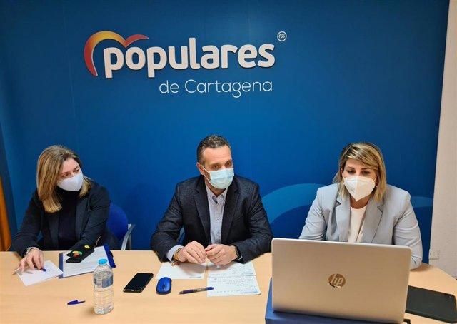 Junta Directiva local del Partido Popular de Cartagena