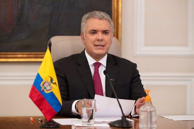 El president de Colòmbia, Iván Duc