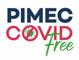 Logo de la campanya de tests d'antígens que la patronal Pimec facilita a les pimes de Catalunya per garantir la seguretat sanitària i la prevenció de contagis després de Setmana Santa
