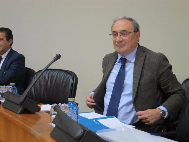 Archivo - El director xeral de la CRTVG, Alfonso Sánchez Izquierdo