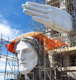 Cristo Protector de Encantado, en Brasil