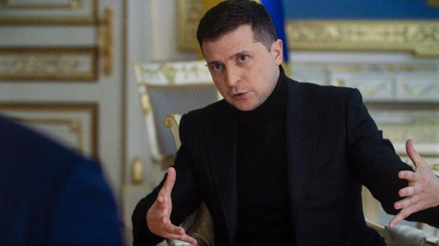 Archivo - Volodimir Zelenski, presidente de Ucrania