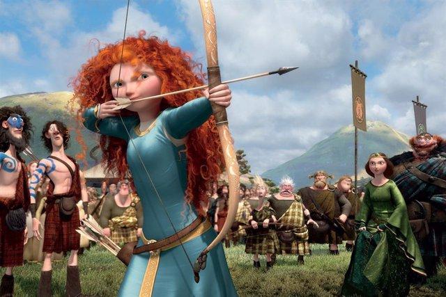 Archivo - Pixar estrena este viernes en la cartelera española 'Brave (Indomable)', una nueva heroína de la factoría Disney, pelirroja y guerrera, decidida a forjar su propio camino en la vida, cueste lo que cueste