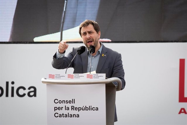 Archivo - El vicepresidente del Consell per la República y eurodiputado de Junts, Toni Comín, en una imagen de archivo.