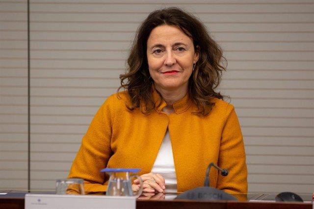 Archivo - La presidenta del Puerto de Barcelona, Mercè Conesa.