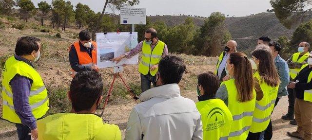 Restauran 184 hectáreas de la zona del incendio de Quesada y Huesa