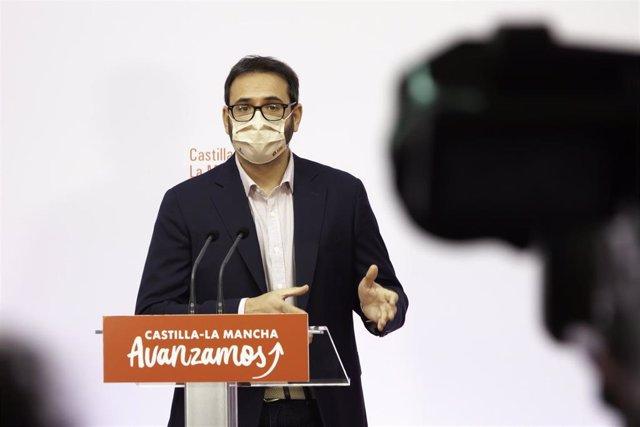 Archivo - El secretario de Organización del PSOE de Castilla-La Mancha y diputado nacional, Sergio Gutiérrez