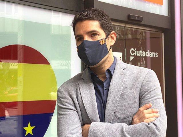 El diputat de Cs al Parlament Nacho Martín Blanco