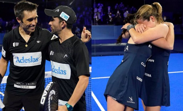 Fernando Belasteguín i Sanyo Gutiérrez i Ariana Sánchez i Paula Josemaría, campions de l'Adeslas Madrid Open