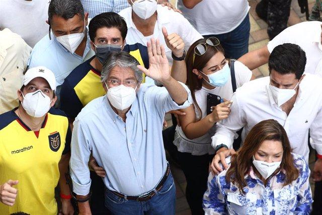 El conservador Guillermo Lasso, virtual ganador de las elecciones ecuatorianas.