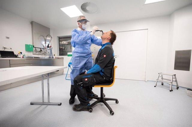 Prueba de coronavirus en Alemania
