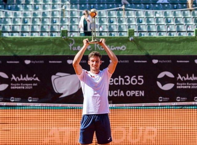 Pablo Carreño logra el título en el AnyTech365 Andalucía Open