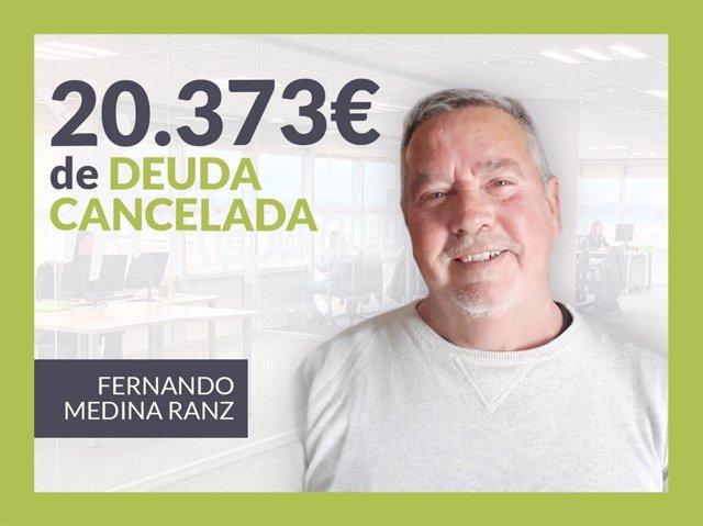 Fernando Medina, exonerado con Repara Tu Deuda