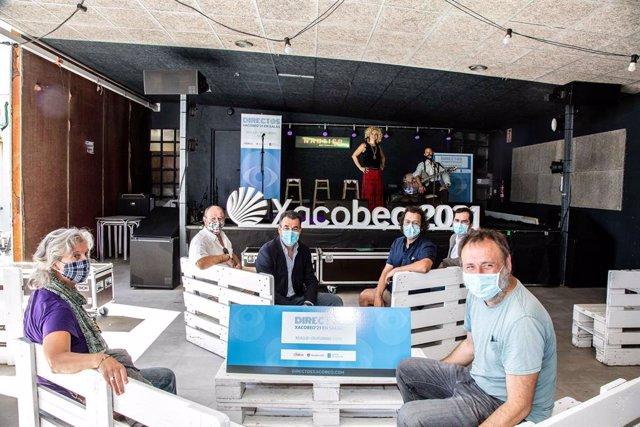 Archivo - Presentación del programa Directos Xacobeo 21 en salas