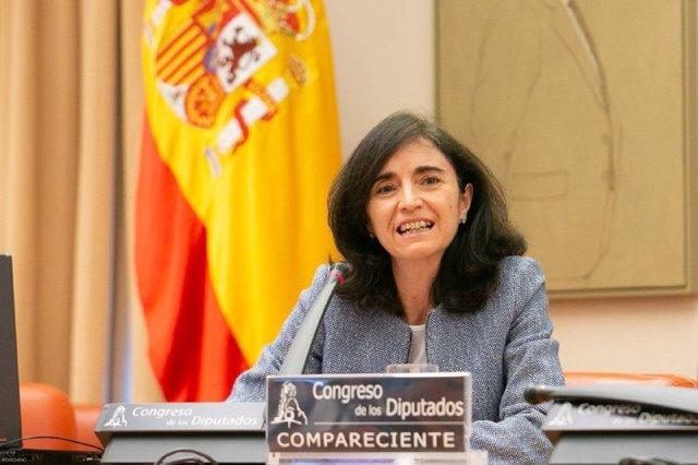 Archivo - La presidenta de la Asociación de Empresas con Gran Consumo de Energía (AEGE), Teresa Rasero Guerrero